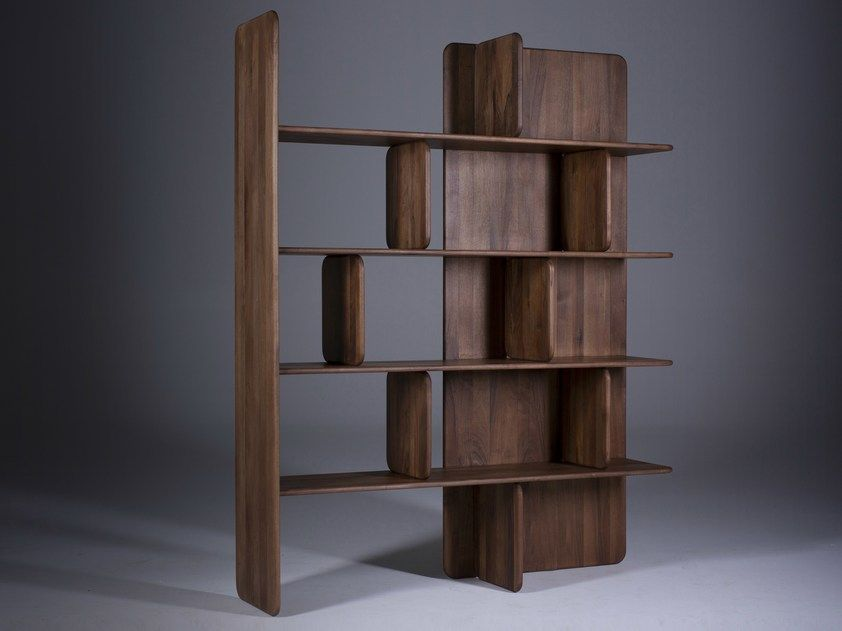 Open Solid Wood Bookcase Soft By Artisan Shelves Solid Wood Furniture Design Bookcase Design
