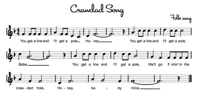 Crawdad Song Music Teaching Tips Ideas Strategies Pinterest