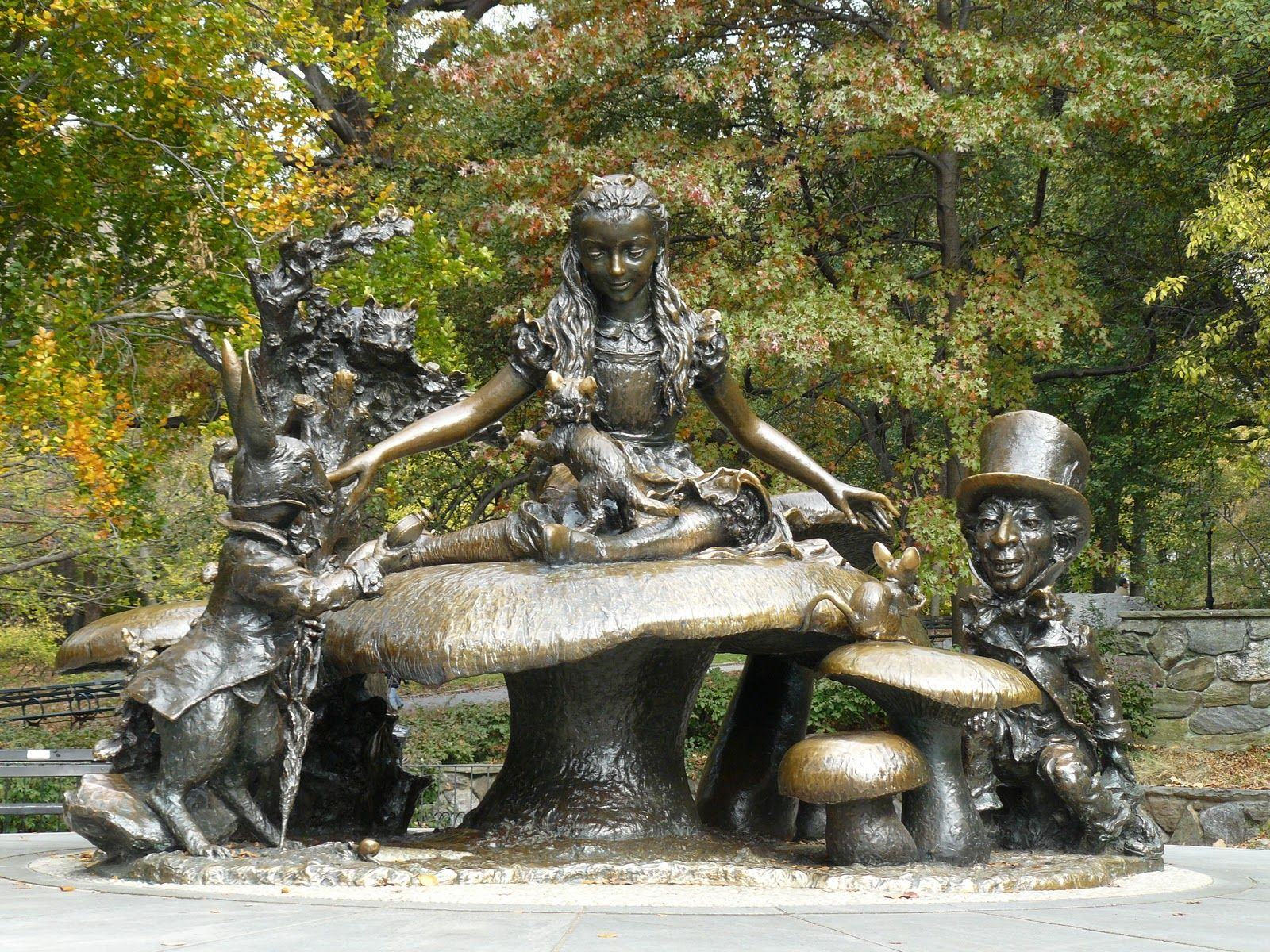 Alice In Wonderland Fountain, Central Park