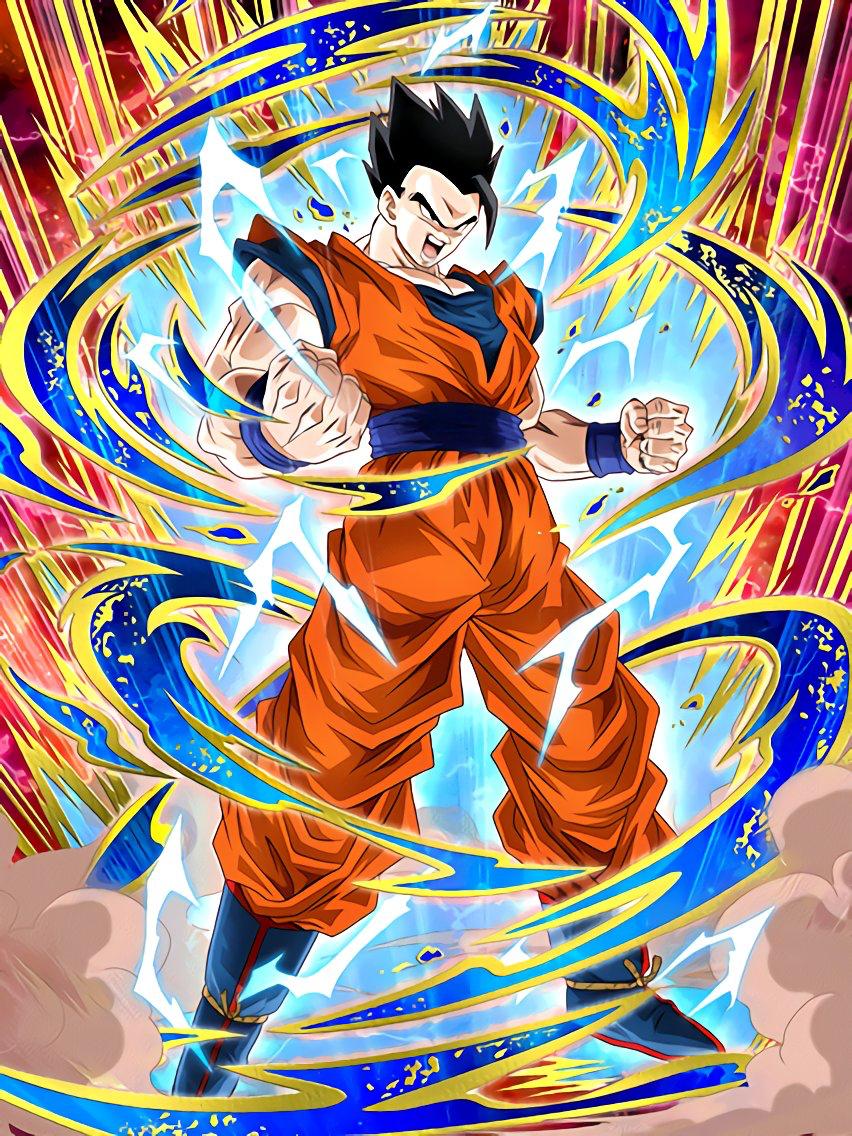 Ultimate Power Potential Ultimate Gohan Dragon Ball Z Dokkan Battle Japanese Version Dragon Ball Artwork Dragon Ball Super Manga Anime Dragon Ball