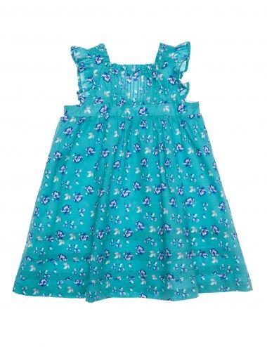 Vestido Verde Floreado Ropa Para Niña Moda Infantil Gocco Tienda Oficial Gocco Girl Fashion Dresses Girls Dresses