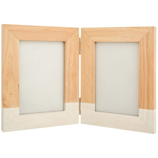 Image for Sainsbury\'s Home Double App Photo Frame 4x6 from ...