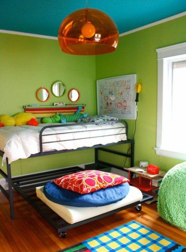 40 farbideen kinderzimmer der zauber der farben for Raum farbideen