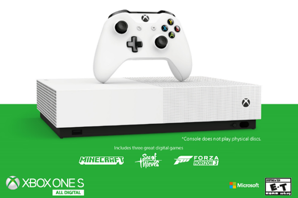 Microsoft Unveils Disc Free Xbox One S All Digital Edition Price Availability Video Ar Augmentedreality Gadgets Iot Mr Free Xbox One Xbox One S Xbox One