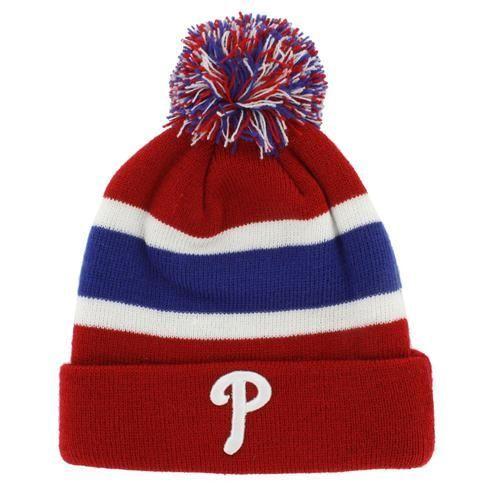 f9c84e7676d Philadelphia Phillies Beanie  47 Brand Cuff Knit Hat in 2018 ...