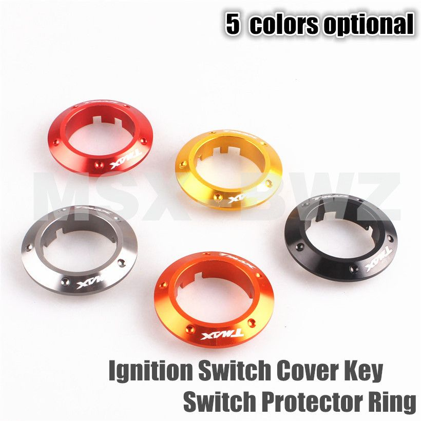 Motorcycle Ignition Switch Cover Key Switch Protector Ring