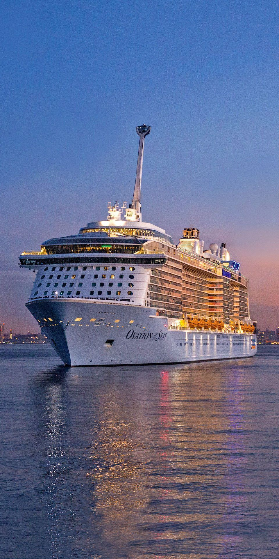 Ovation Of The Seas This Quantum Class Ship Is Equipped To Offer You The Best Time On Your Way To Alaska Pacific Cruise Royal Caribbean Cruise Cruise Travel