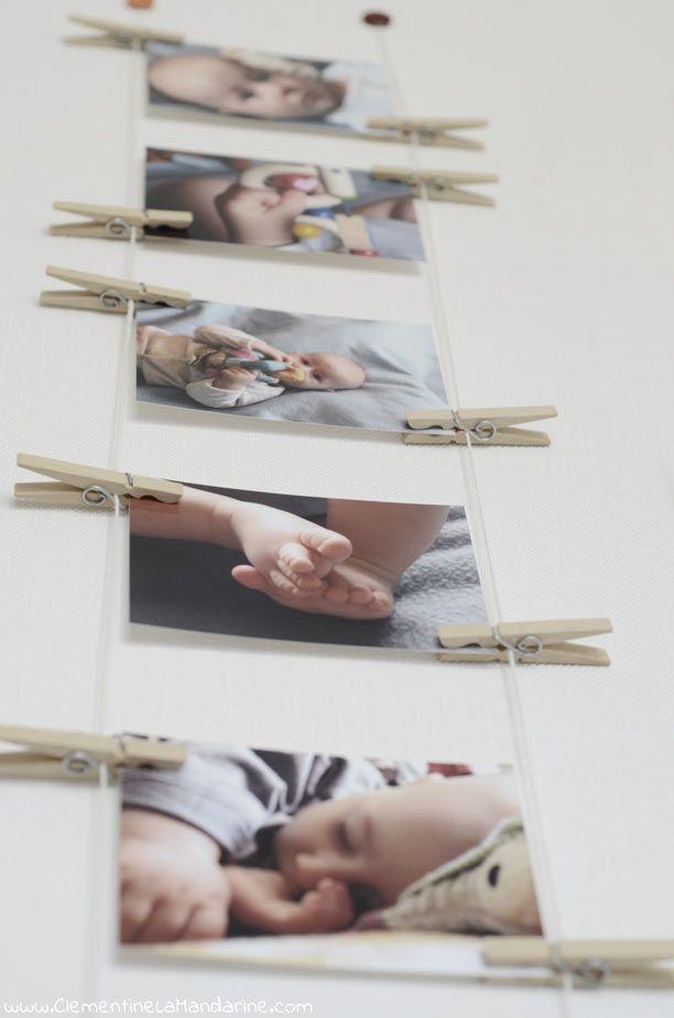 Comment afficher des photos au mur sans cadre Decoration, Diy