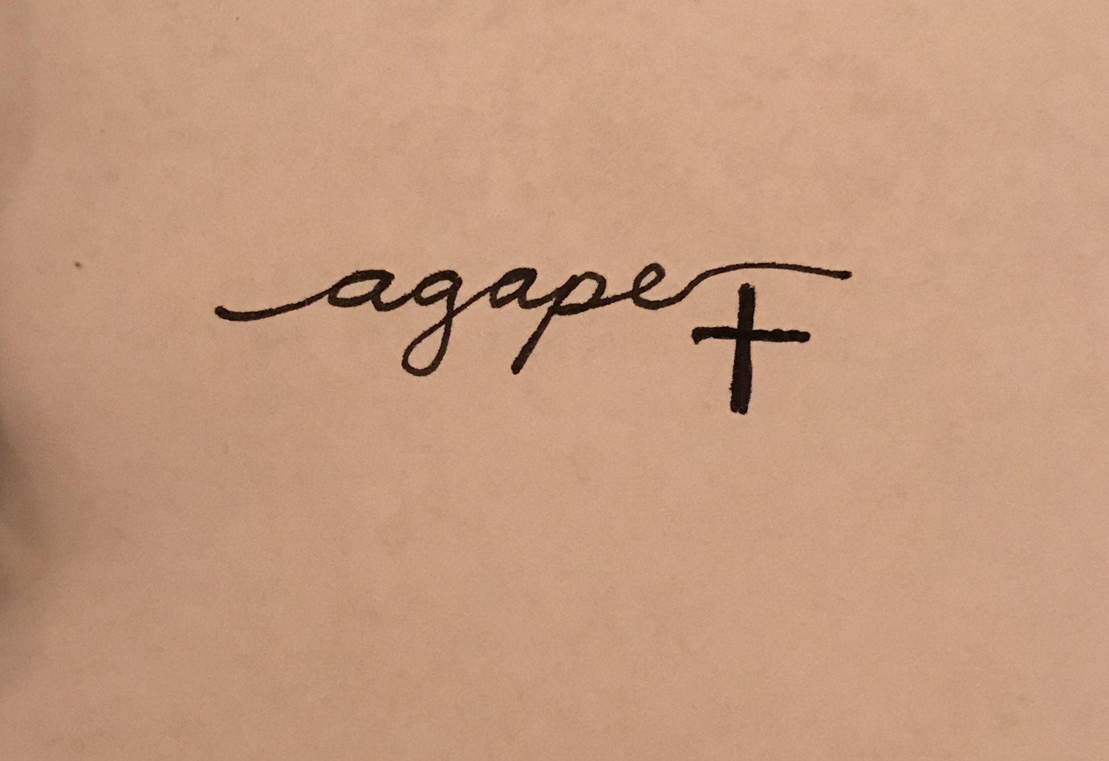 betekenis agape
