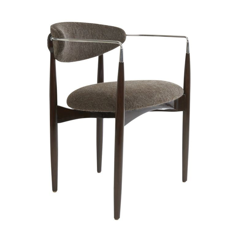 Leto Diningside Chair Transitional Contemporary Midcentury