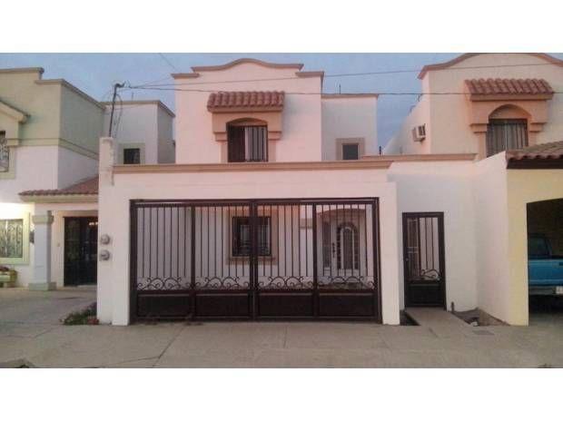 3 Recamaras Casa Blanca Casas En Venta Cd Obregon House Styles