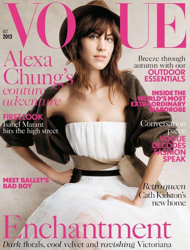 #Vogue UK October 2013