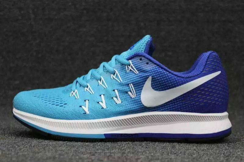 57869138662d9 Big Boys Shoe Youth Nike Air Zoom Pegasus 33 Sport Real Royal White Big  Size 13