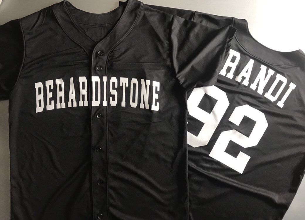 Baseball Jersey Personalized with Your Favorite Hashtag or