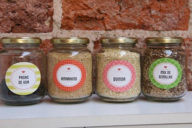 Frascos para cocina buscar con google frascos - Frascos de vidrio decorados ...