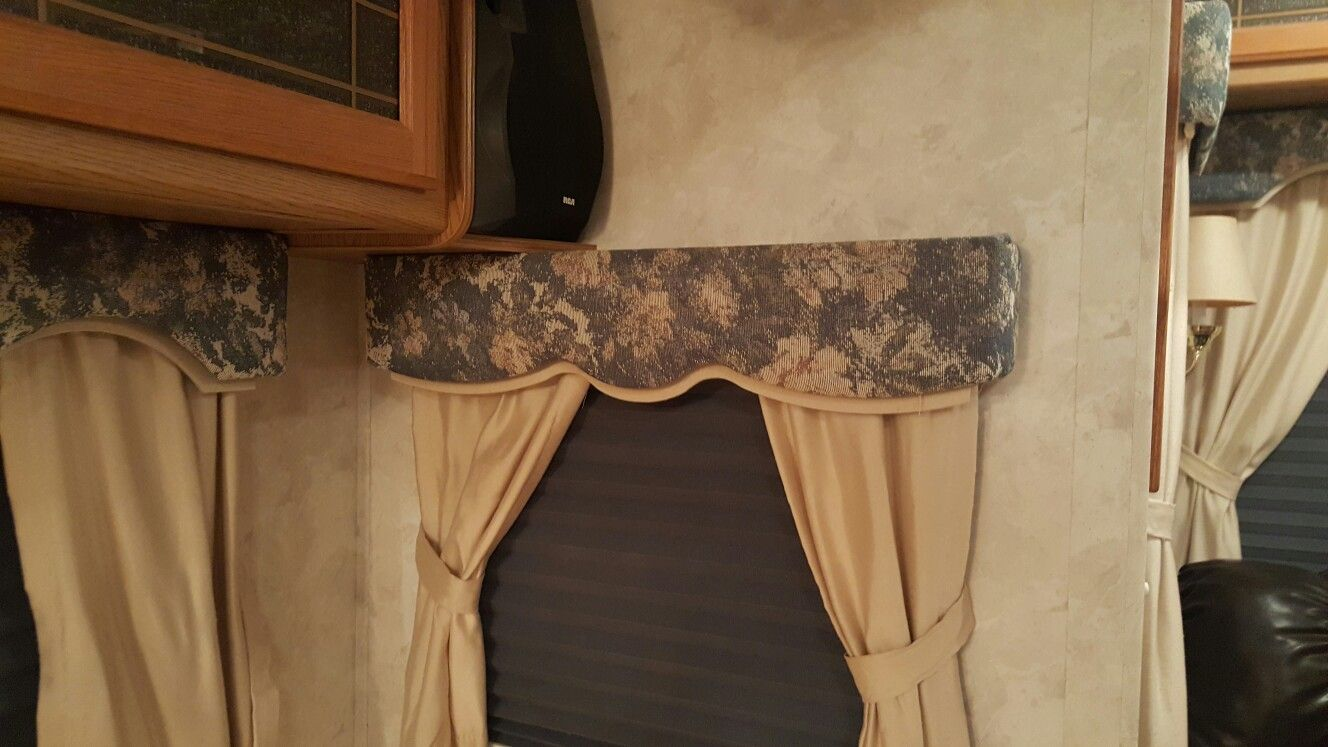 How to update your rv window valences with paint