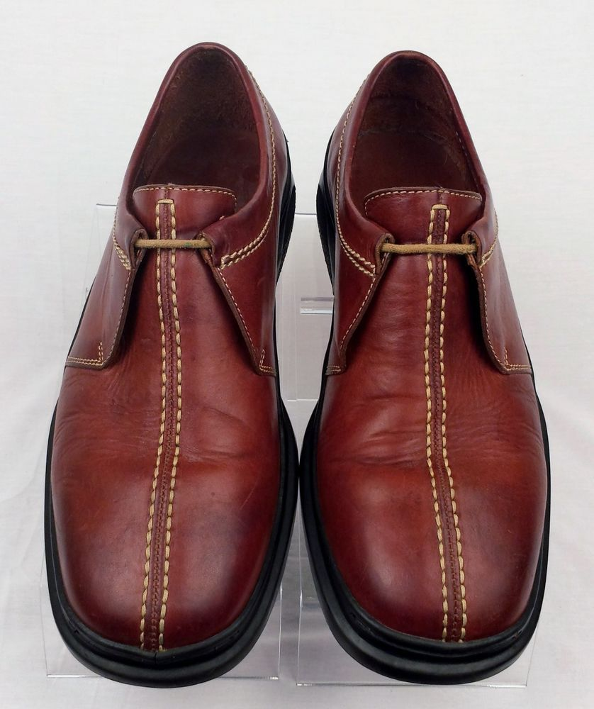 f420f15d3481 COLE HAAN Nike Air Country Mens Brown Leather Lace up Oxford shoe 9 m GREAT  COND  ColeHaan  Oxfords
