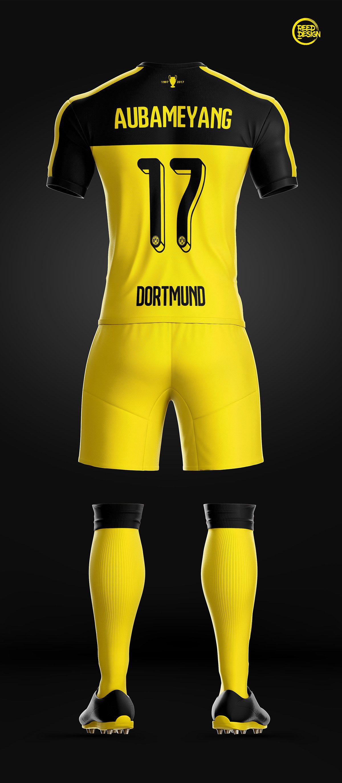 dcd05a032 Borussia Dortmund - Fantasy Concept on Behance | Vniforme | Borussia ...