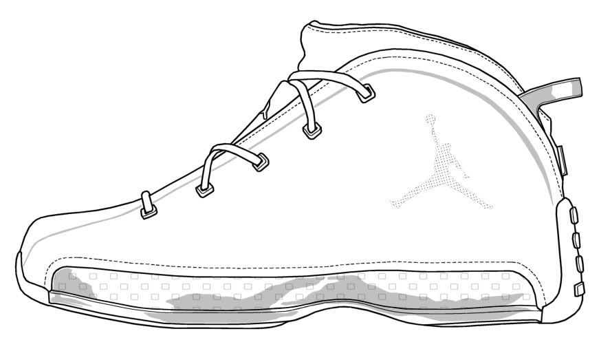 Kyrie Shoes Coloring Pages Pics