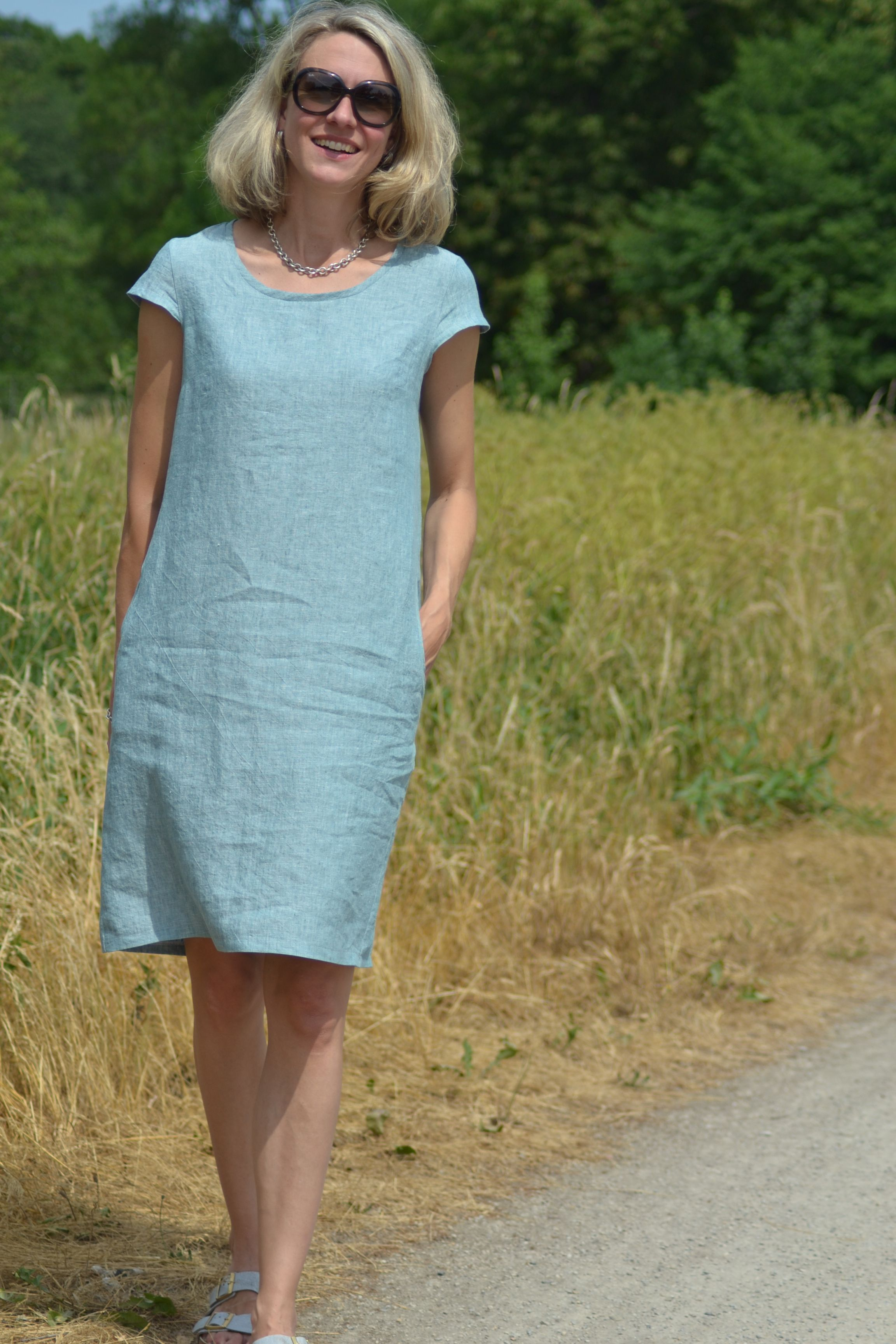Photo of Freuleins – pattern dress Ibella – It starts! – Sewing makes you happy