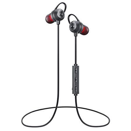 2020 Wireless Headphones Best Bluetooth Earbuds With Microphone For Running Bluetooth 5 0 Earphones Ipx6 Sweatproof Noise Can In 2020 Earbuds Headphones Sweatproof