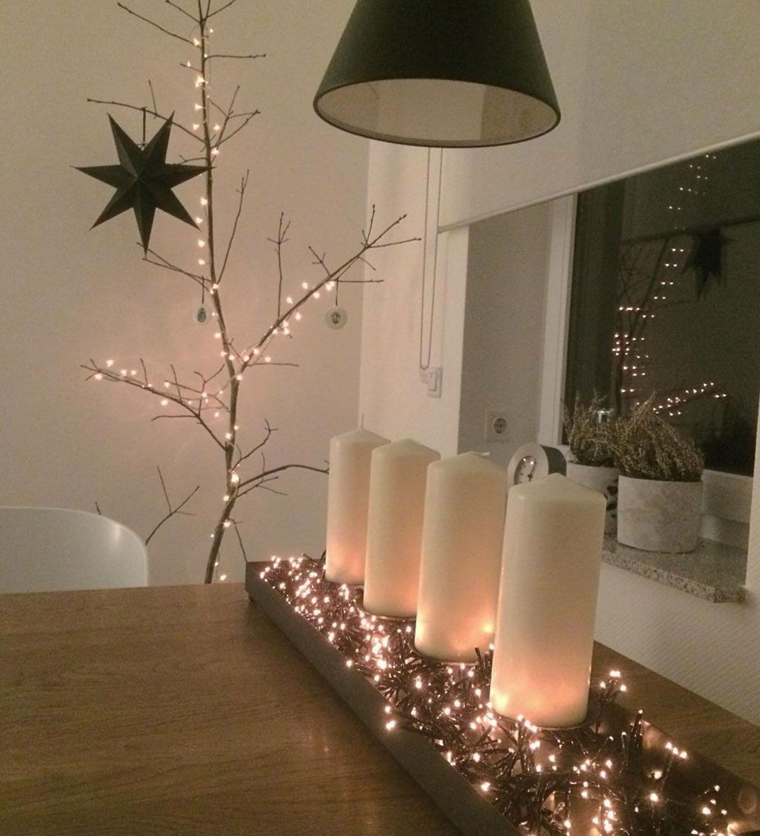 Deco Candles Advent Lichterkette With Informations About Deko