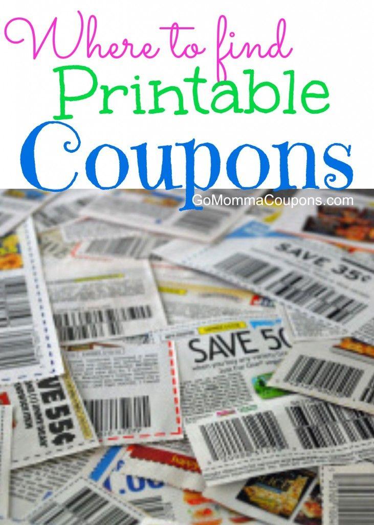 Where To Find Free Printable Coupons Go Momma Coupons Couponing For Beginners How To Start Couponing Sunday Coupons
