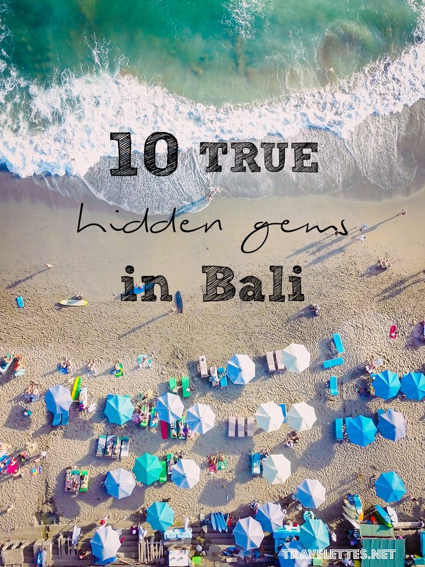 Travelettes » » 10 True Hidden Gems in Bali #BaliHoliday