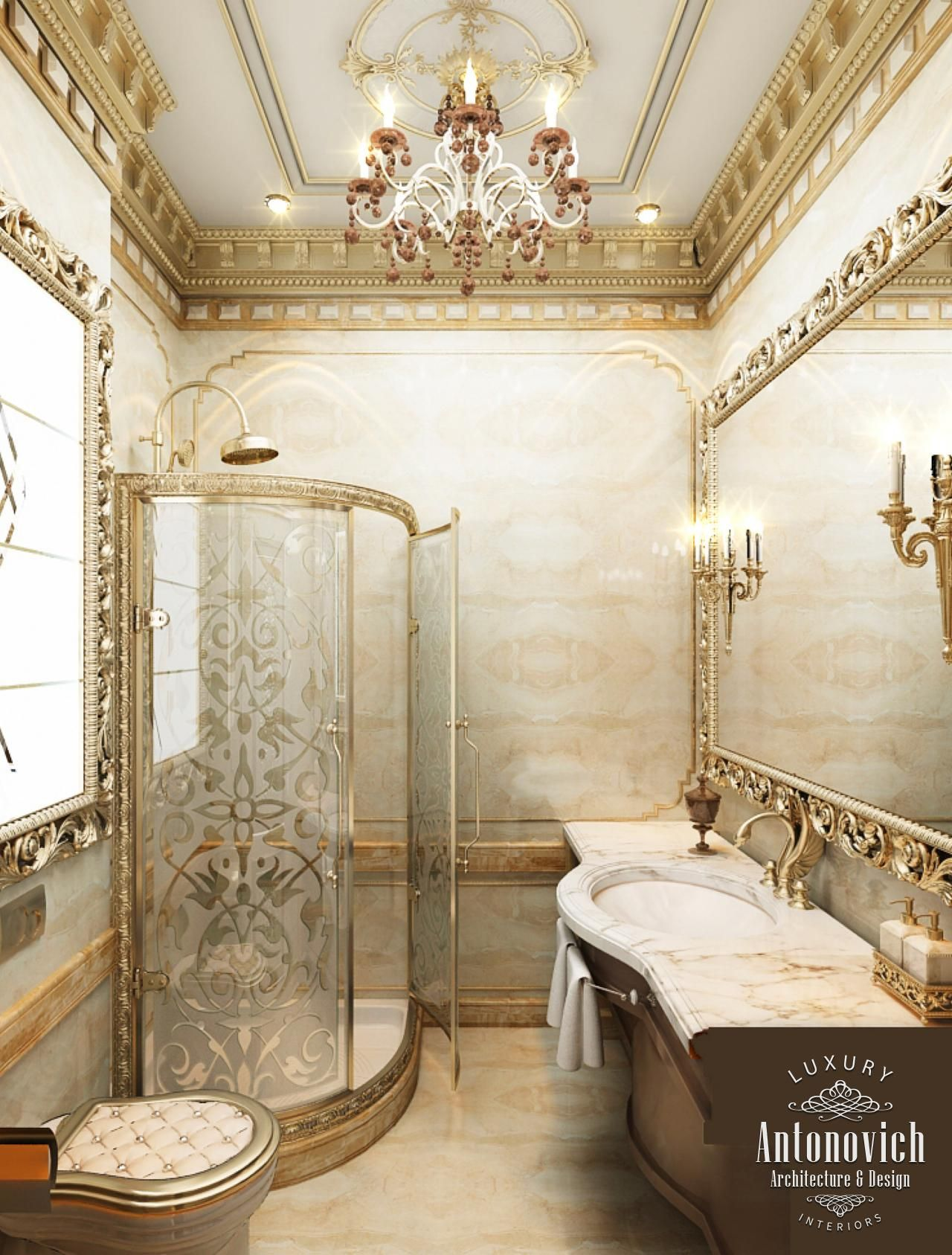 Villa interior design in dubai villas project in mohammed bin zayed city photo 35 luxury Bathroom design jobs dubai