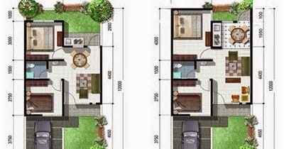 rumah minimalis type 45 memiliki ukuran yang cukup mungil