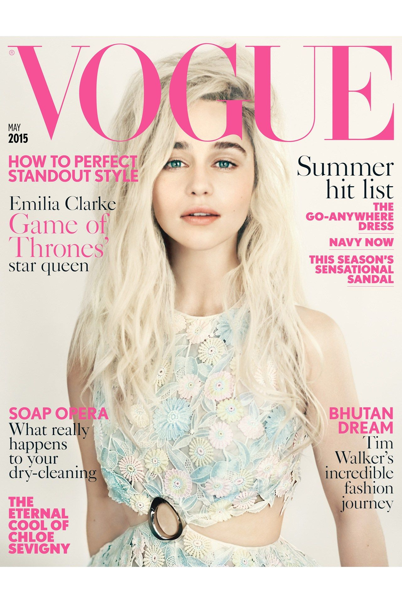 Emilia Clarke Covers May Vogue Vogue uk, Emilia clarke