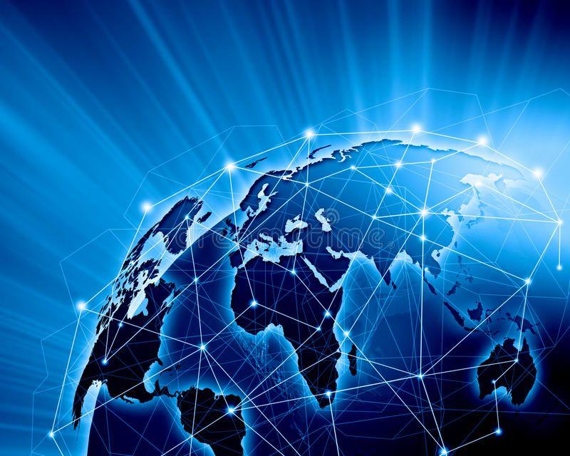 Blue Image Of Globe Blue Vivid Image Of Globe Globalizatio Marketing Communications Plan Marketing Communication Strategy Integrated Marketing Communications