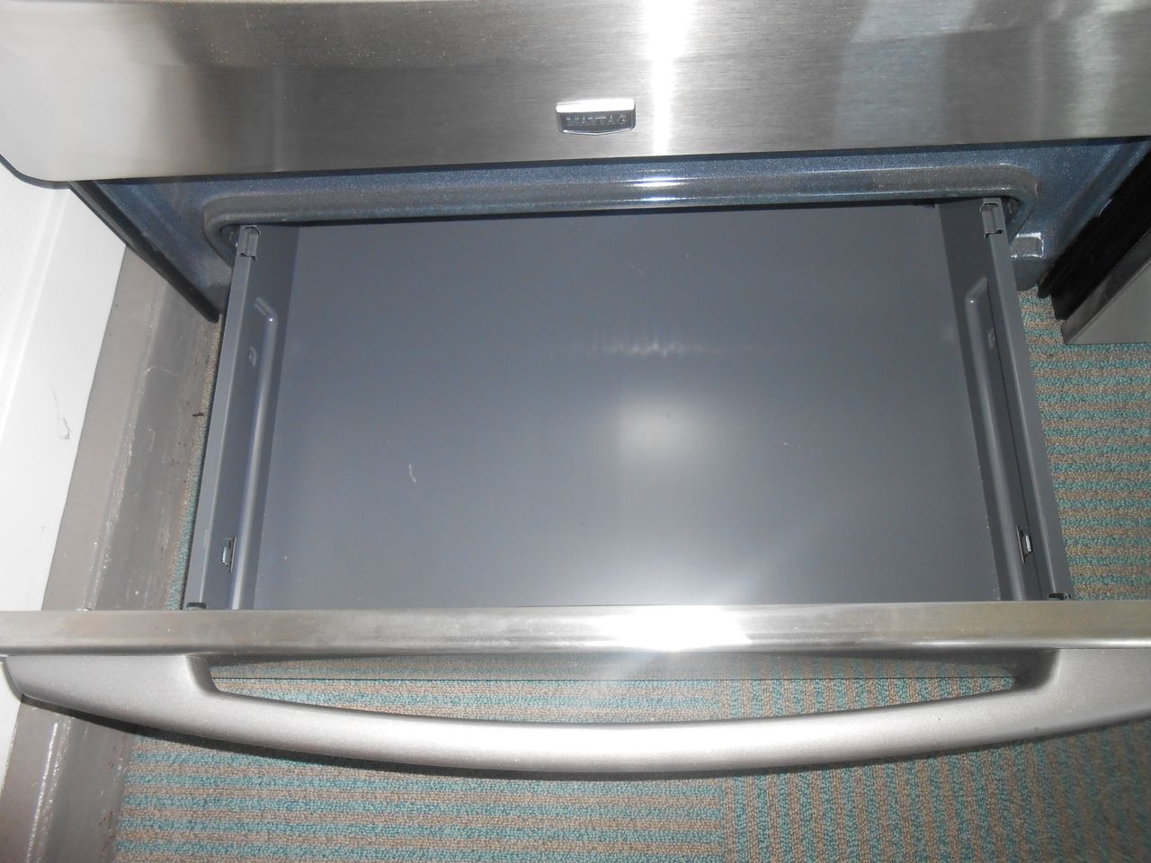 Appliance city maytag induction range with convection