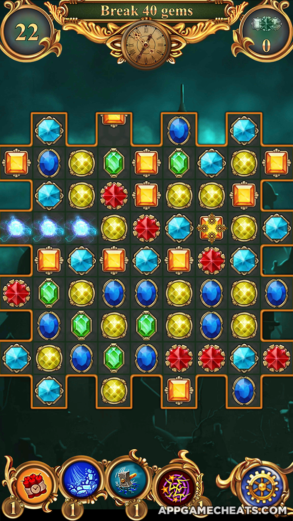 Clockmaker Match 3 Cheats & Hack for Rubies, Hearts