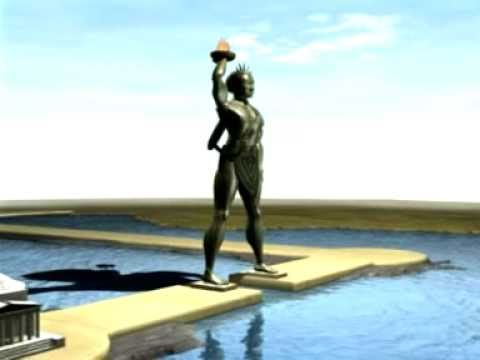 The COLOSSUS of Rhodes (Seven wonders of the ancient world) W5 6/7