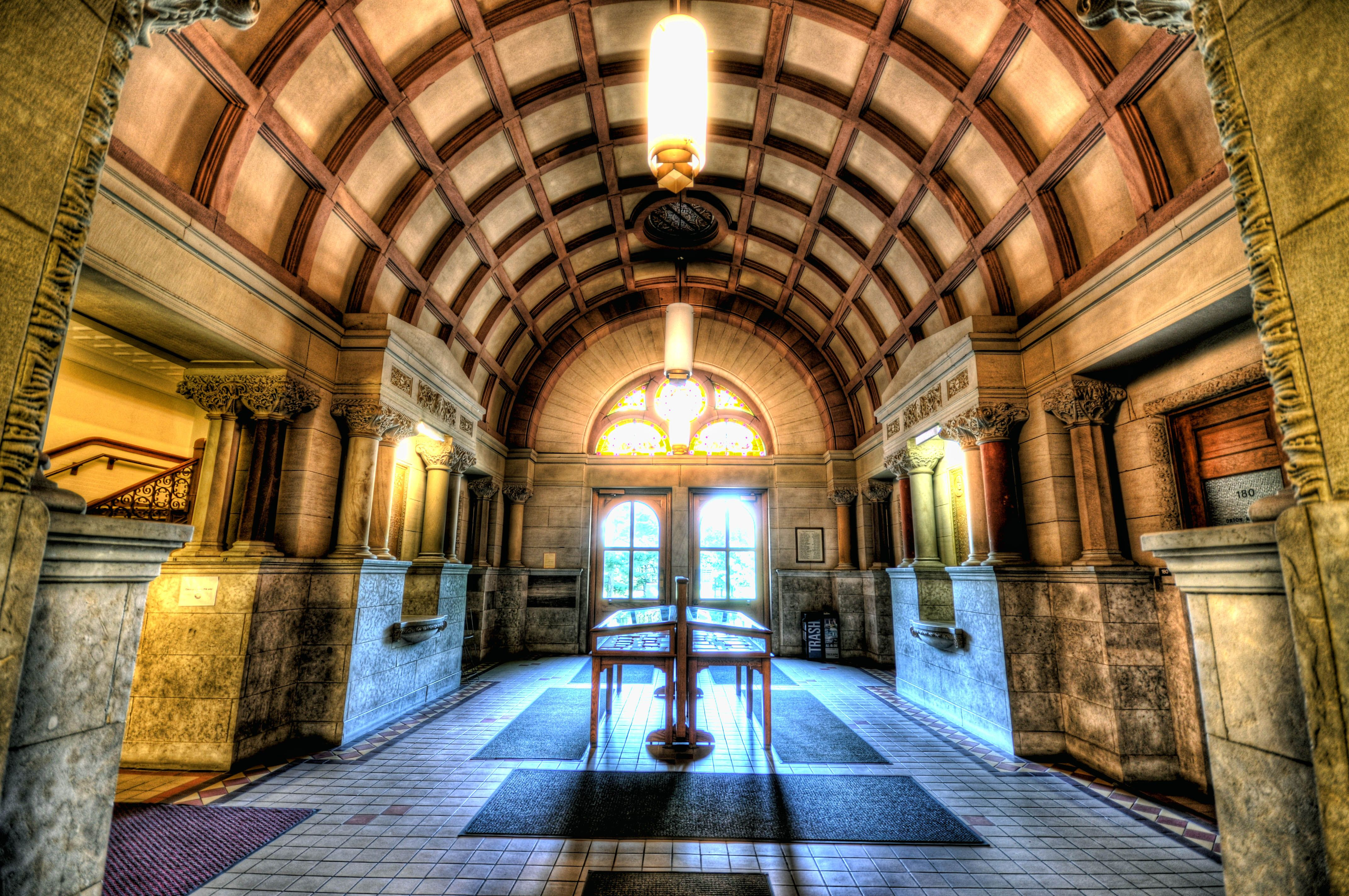 Ohio state university brutus buckeye statue - Ohio State University Being The Oldest Building On Campus This Building Is