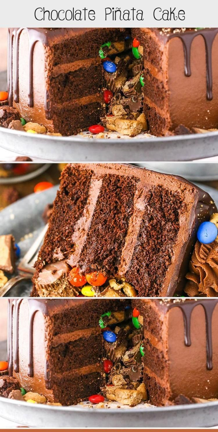 Photo of Chocolate Piñata Cake – Life Love and Sugar #PinataKuchenRezept #PinataKuchen…