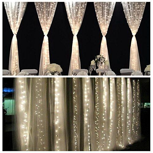 Fefe 174 Crystal Led Lights 9 8ft 9 8ft 304 Leds String