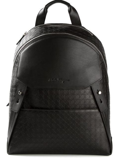 51faa403d SALVATORE FERRAGAMO 'Gamma' Backpack. #salvatoreferragamo #bags #leather  #backpacks Ux