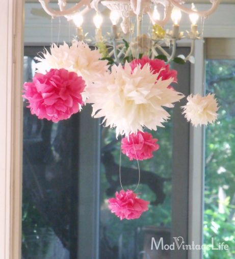 How To Make Tissue Paper Flowers Tutorial Elegant Simplicity