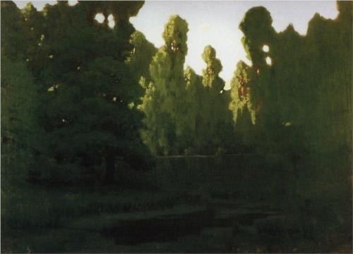 Forest - Arkhip Kuindzhi
