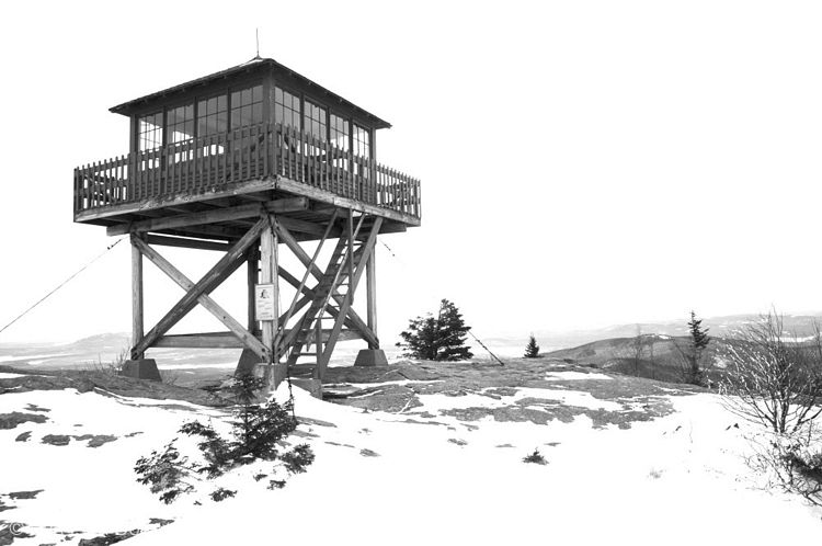 Fire tower fire towers pinterest for Fire tower cabin plans