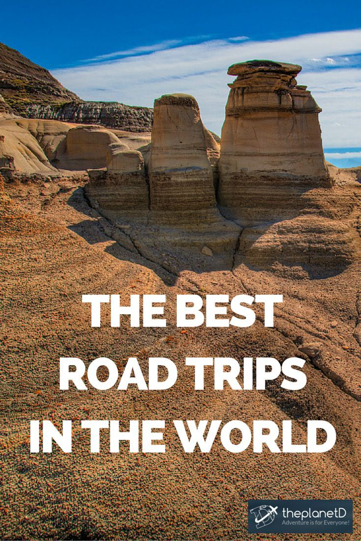 From 1 day to 3 months, these road trips are our favourites and it has me very excited to start planning some more! | The Best Road Trips in the World | The Planet D Adventure Travel Blog: