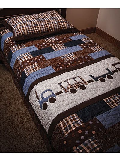 Good Nite Train Quilt Pattern From Annies Craft Store Order Here