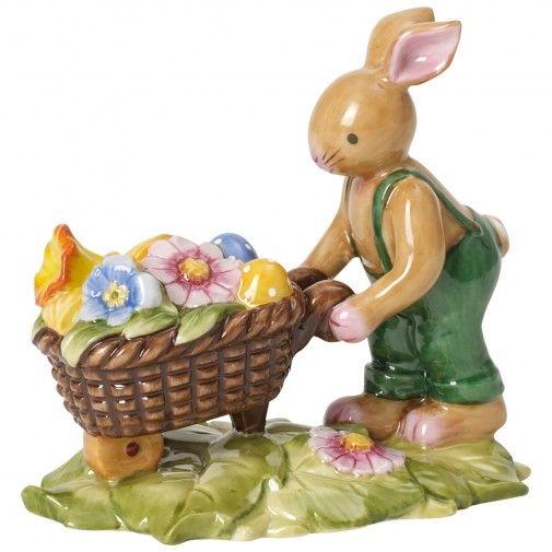 Villeroy & Boch Bunny Family Bunny with wheelbarrow-01