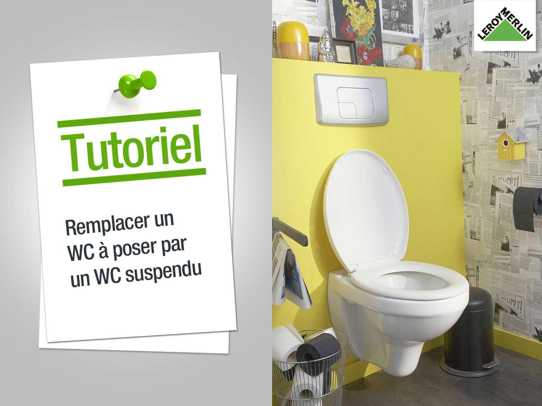 Comment Remplacer Mon Wc A Poser Par Un Wc Suspendu Jpg 1500 1123 With Images Home Deco Toilet Bathroom