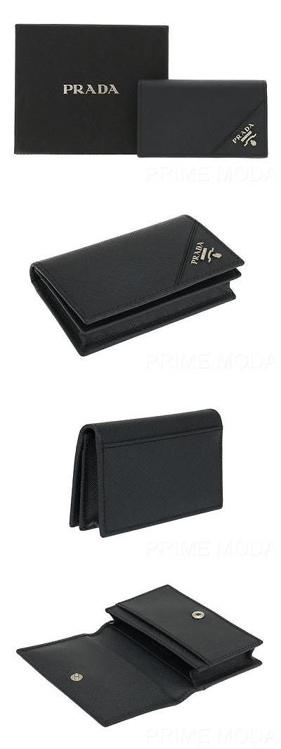 Business and credit card cases 105860 new prada blue saffiano business and credit card cases 105860 new prada blue saffiano leather credit card holder case colourmoves
