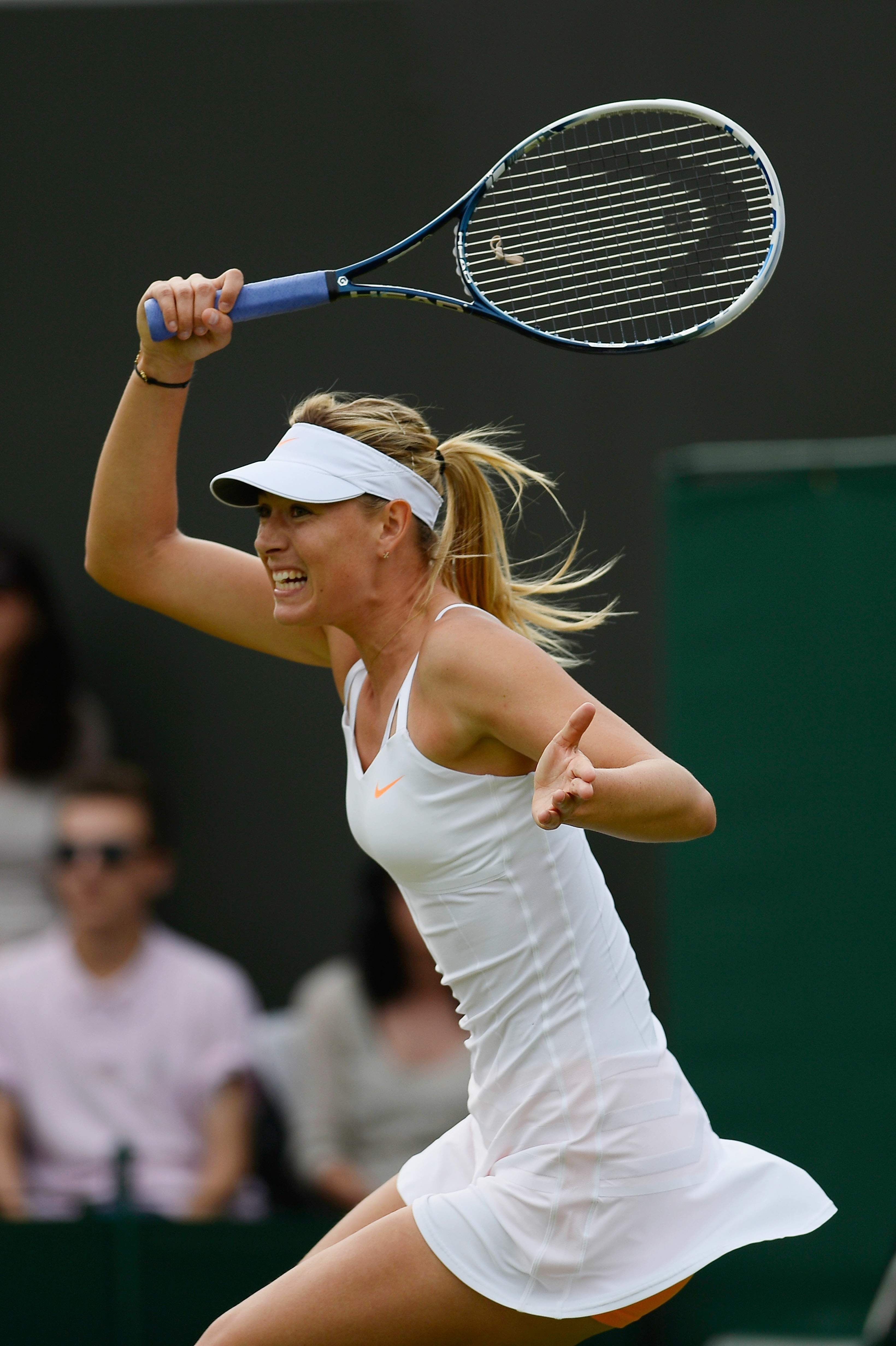 Maria Sharapova on Day3 of the Wimbledon Tennis Championships June 26-2013