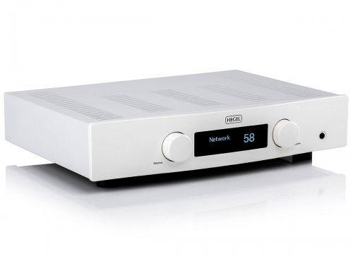 Hegel Röst stereoforsterker med DAC - Hvit