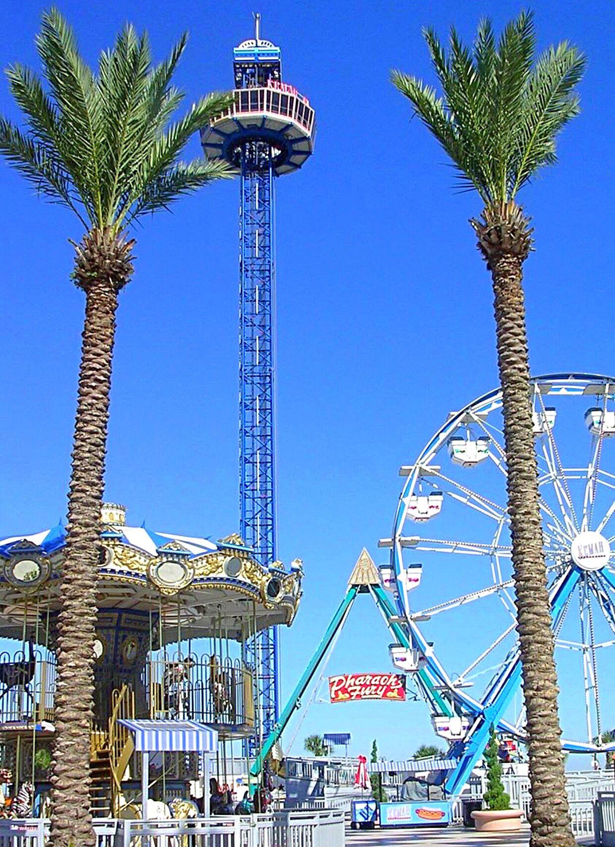 Kemah Boardwalk Texas | Carnival rides, Kemah boardwalk ...